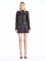 DIESEL BLACK GOLD LILIANY Leather jackets D r