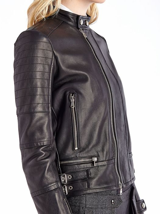 DIESEL BLACK GOLD LILIANY Leather jackets D a