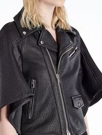 DIESEL BLACK GOLD LACKER Leather jackets D a