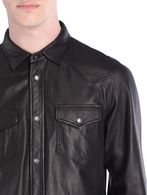 DIESEL L-SONORA Leather jackets U a