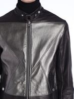 DIESEL BLACK GOLD LITRIANG Leather jackets U a