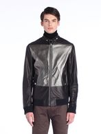 DIESEL BLACK GOLD LITRIANG Leather jackets U f