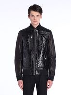 DIESEL BLACK GOLD JETALLIC Jackets U f