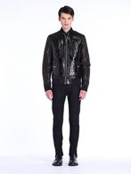 DIESEL BLACK GOLD JETALLIC Jackets U r