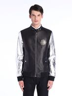 DIESEL BLACK GOLD LOPOINT Leather jackets U f