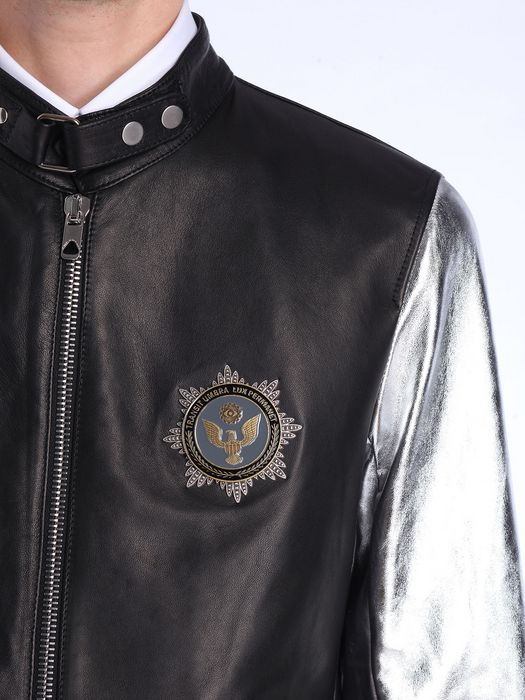 DIESEL BLACK GOLD LOPOINT Leather jackets U a