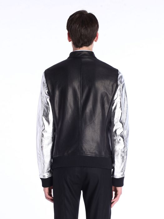 DIESEL BLACK GOLD LOPOINT Leather jackets U e