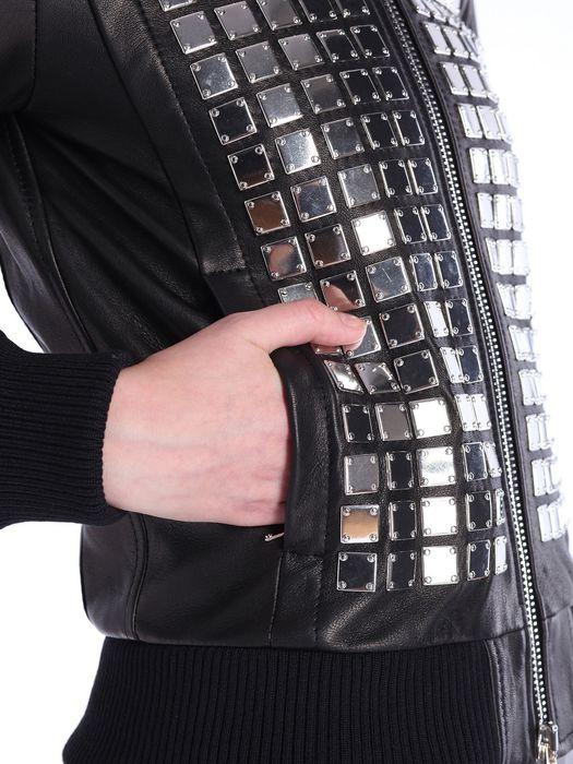 DIESEL BLACK GOLD LARTISC Leather jackets D a