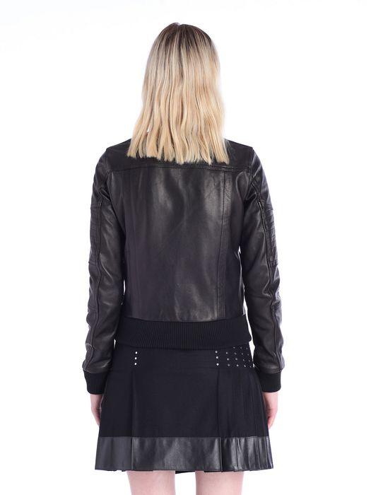 DIESEL BLACK GOLD LARTISC Leather jackets D e