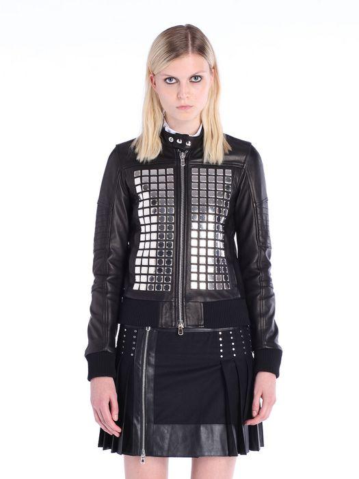 DIESEL BLACK GOLD LARTISC Leather jackets D f