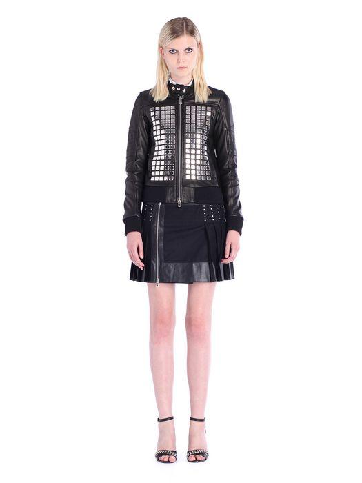 DIESEL BLACK GOLD LARTISC Leather jackets D r