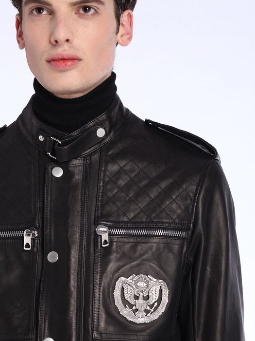 DIESEL BLACK GOLD LUCCY-BOMB Leather jackets U a