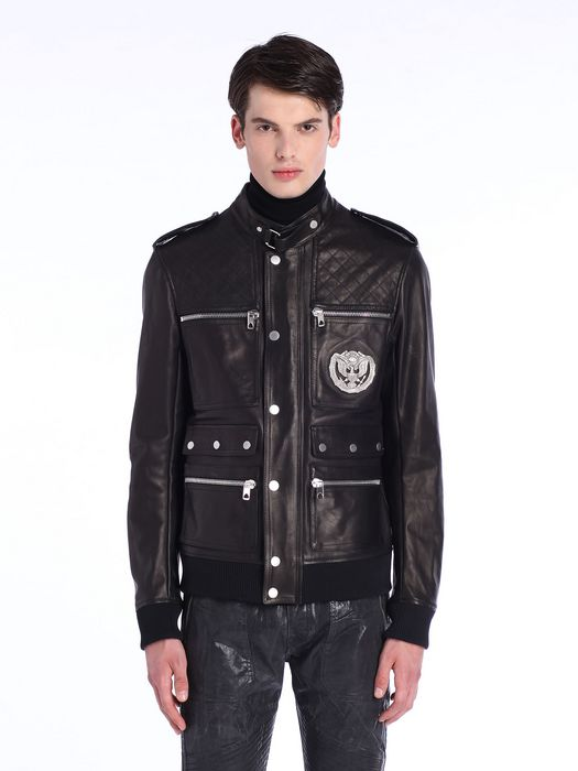 DIESEL BLACK GOLD LUCCY-BOMB Leather jackets U f
