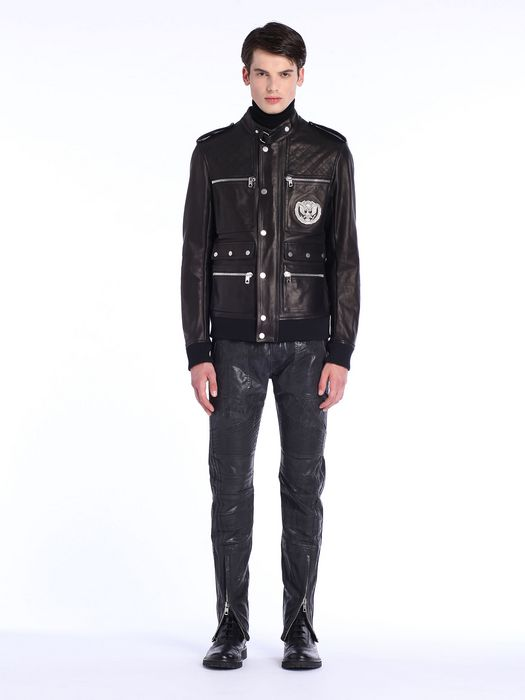 DIESEL BLACK GOLD LUCCY-BOMB Leather jackets U r