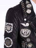 DIESEL BLACK GOLD LAWOOL Leather jackets U a