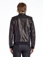DIESEL BLACK GOLD LUMIX Leather jackets U e