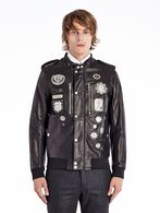 DIESEL BLACK GOLD LUMIX Leather jackets U f