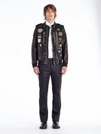 DIESEL BLACK GOLD LUMIX Leather jackets U r