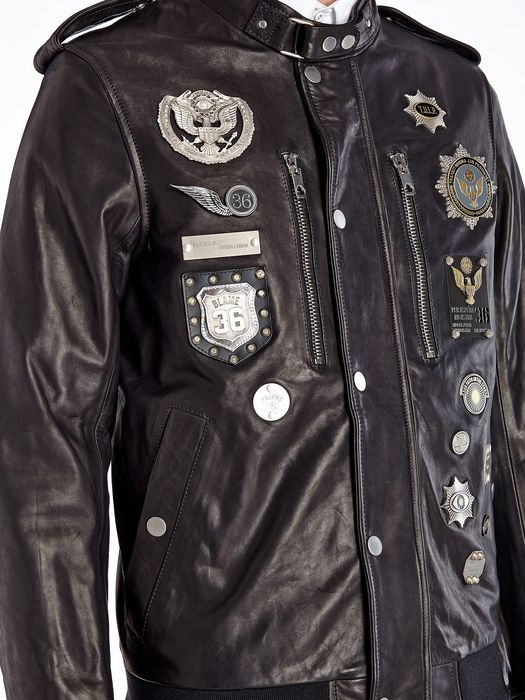 DIESEL BLACK GOLD LUMIX Leather jackets U a