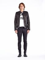 DIESEL BLACK GOLD LESTUDS Leather jackets U r