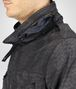 BOTTEGA VENETA New Dark Grey Intrecciolusion Parka Coat or Jacket U ap
