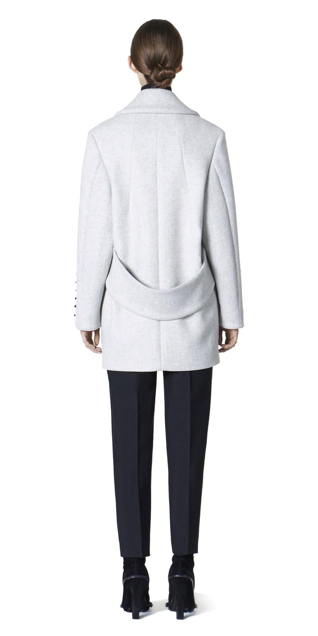 BALENCIAGA Coats D Balenciaga Shoe Lace Coat i