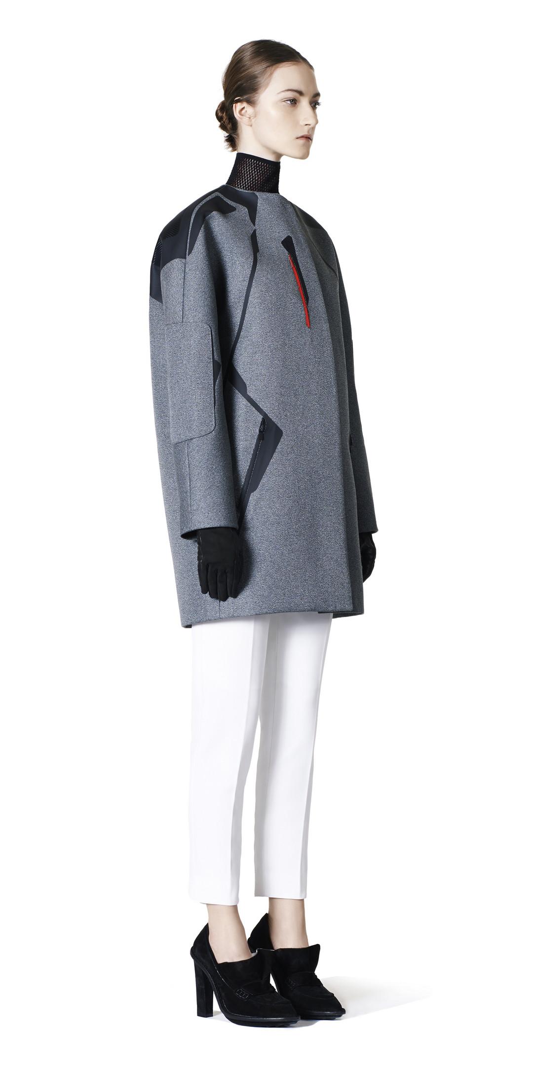 BALENCIAGA Balenciaga Technic Coat Coats D f