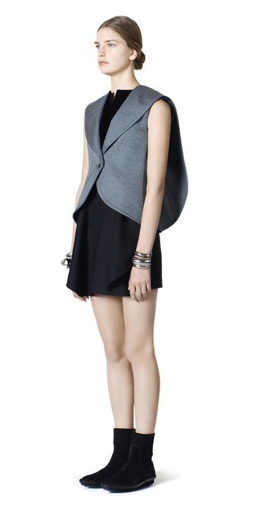 Balenciaga Waisted Sleeveless Jacket