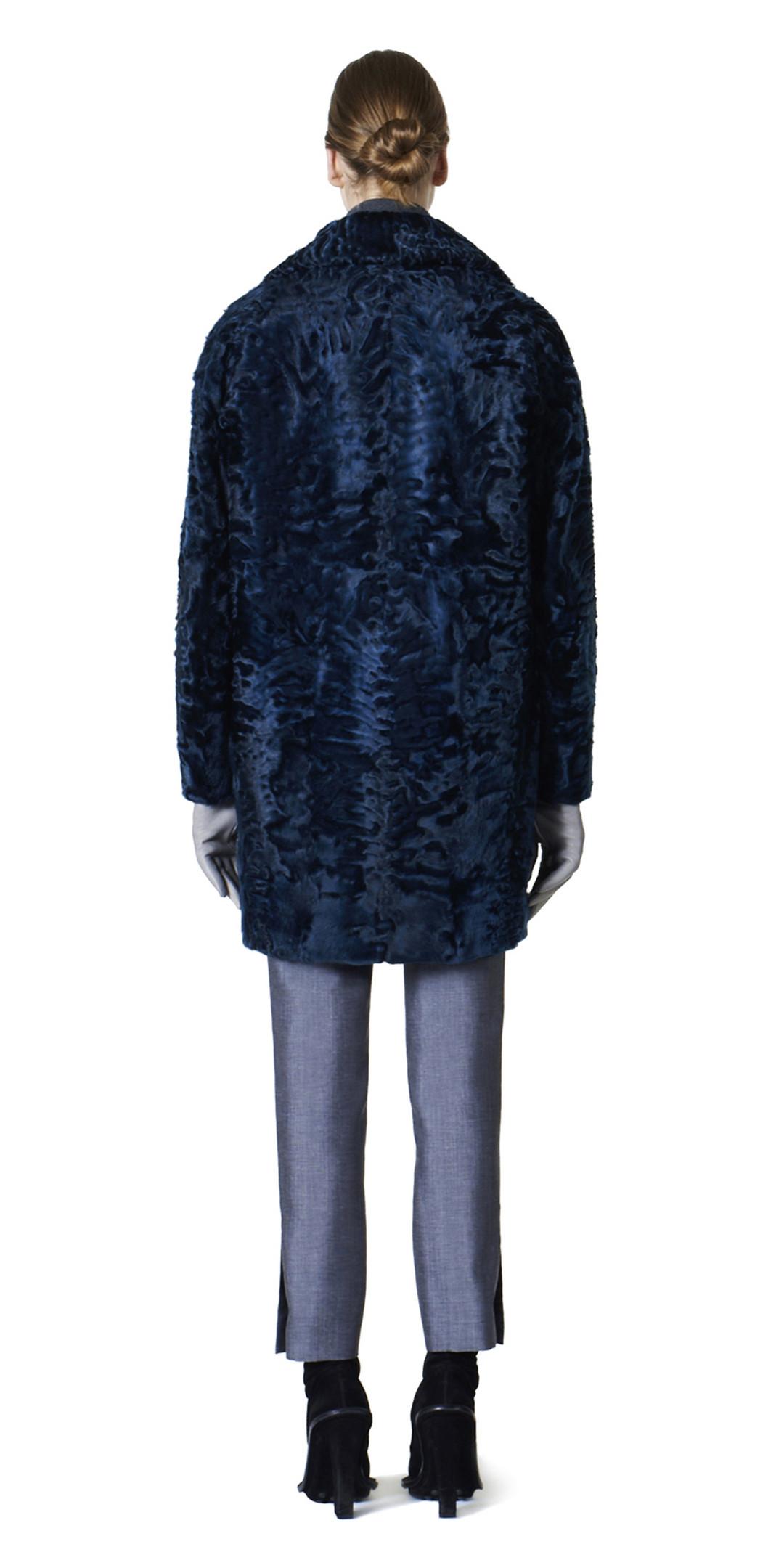 BALENCIAGA Coats D Balenciaga Toggle Fur Coat i