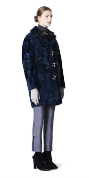 BALENCIAGA Coats D Balenciaga Toggle Fur Coat f