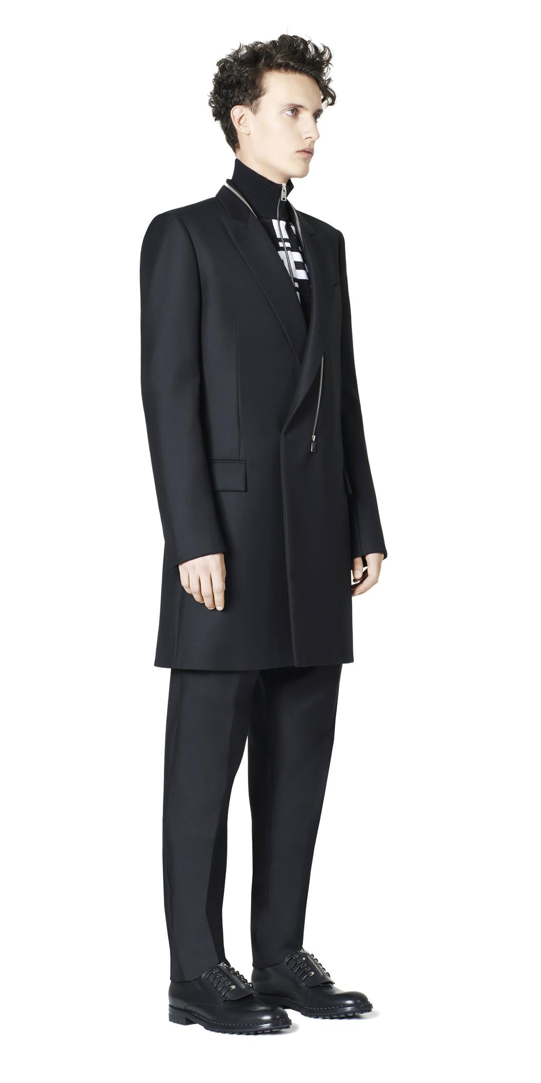 BALENCIAGA Balenciaga Double Breasted Zipped Coat Coats U f
