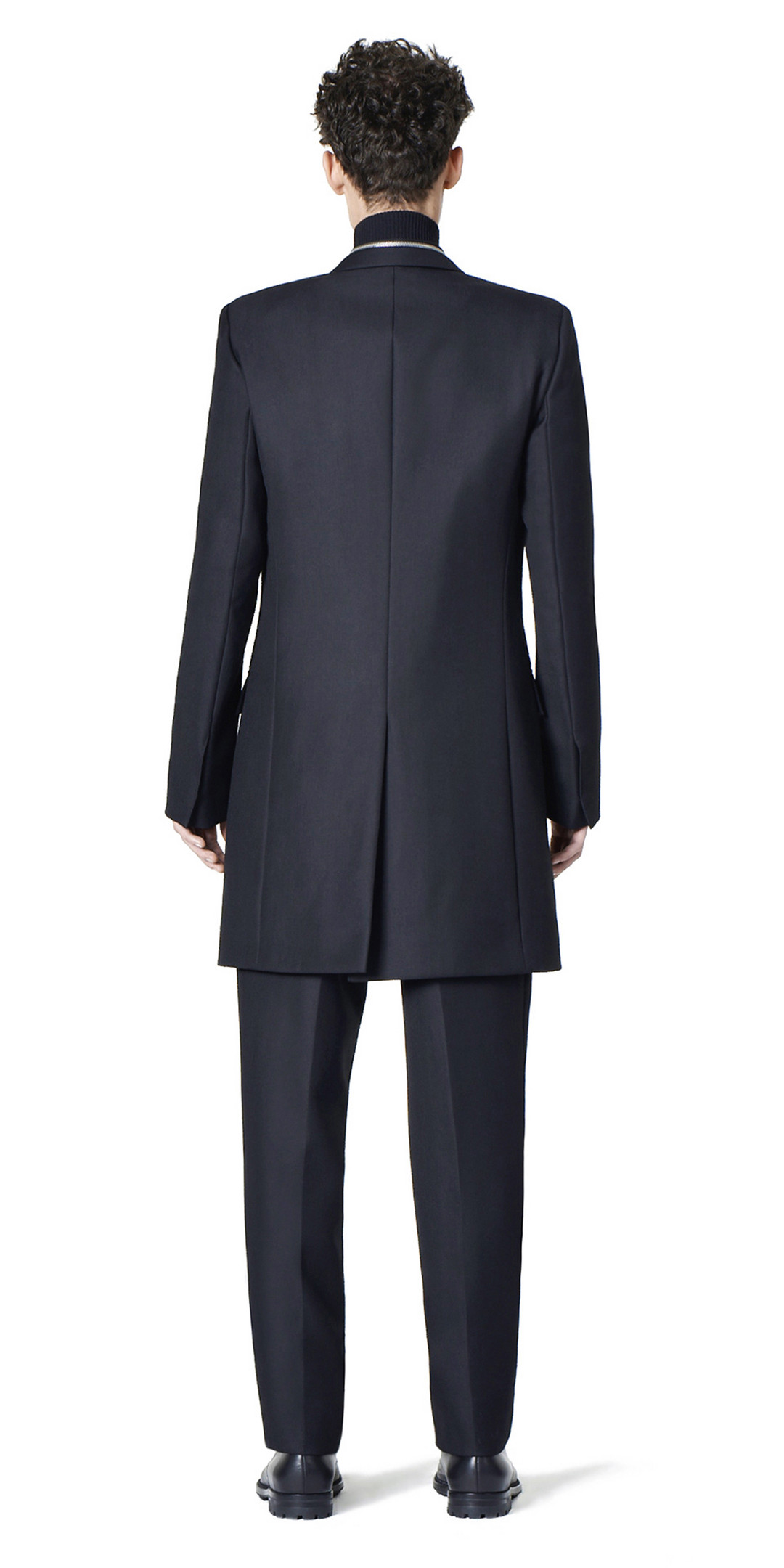 BALENCIAGA Coats U Balenciaga Double Breasted Zipped Coat i