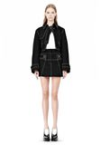 ALEXANDER WANG CUTAWAY TRENCH WITH CONTRAST STITCHING Jacket Adult 8_n_d