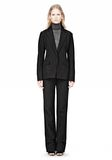 ALEXANDER WANG VACUUM PRESSED BLAZER WITH IRREGULAR PLEATS JACKETS AND OUTERWEAR  Adult 8_n_f