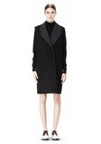 ALEXANDER WANG 2-IN-1 REVERSIBLE DOUBLE BREASTED COCOON COAT JACKETS AND OUTERWEAR  Adult 8_n_d
