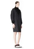 ALEXANDER WANG 2-IN-1 REVERSIBLE DOUBLE BREASTED COCOON COAT JACKETS AND OUTERWEAR  Adult 8_n_e