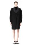 ALEXANDER WANG 2-IN-1 REVERSIBLE DOUBLE BREASTED COCOON COAT JACKETS AND OUTERWEAR  Adult 8_n_f