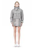 ALEXANDER WANG ASYMMETRIC FRONT PARKA Jacket Adult 8_n_f