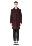 ALEXANDER WANG LOW WAISTED BONDED COAT  JACKETS AND OUTERWEAR  Adult 8_n_f
