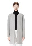 T by ALEXANDER WANG COTTON NEOPRENE OVERSIZED COAT JACKETS AND OUTERWEAR  Adult 8_n_d