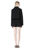 T by ALEXANDER WANG DOUBLE FACE BONDED TRENCH JACKET JACKETS AND OUTERWEAR  Adult 8_n_r
