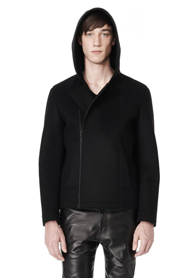 ALEXANDER WANG HOODED JACKET WITH WELT POCKET Jacket Adult 12_n_a