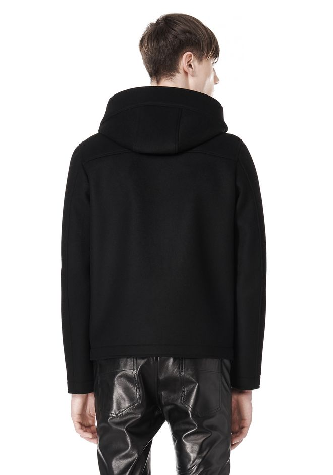 ALEXANDER WANG HOODED JACKET WITH WELT POCKET Jacket Adult 12_n_d
