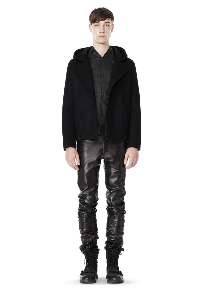 ALEXANDER WANG HOODED JACKET WITH WELT POCKET Jacket Adult 12_n_f