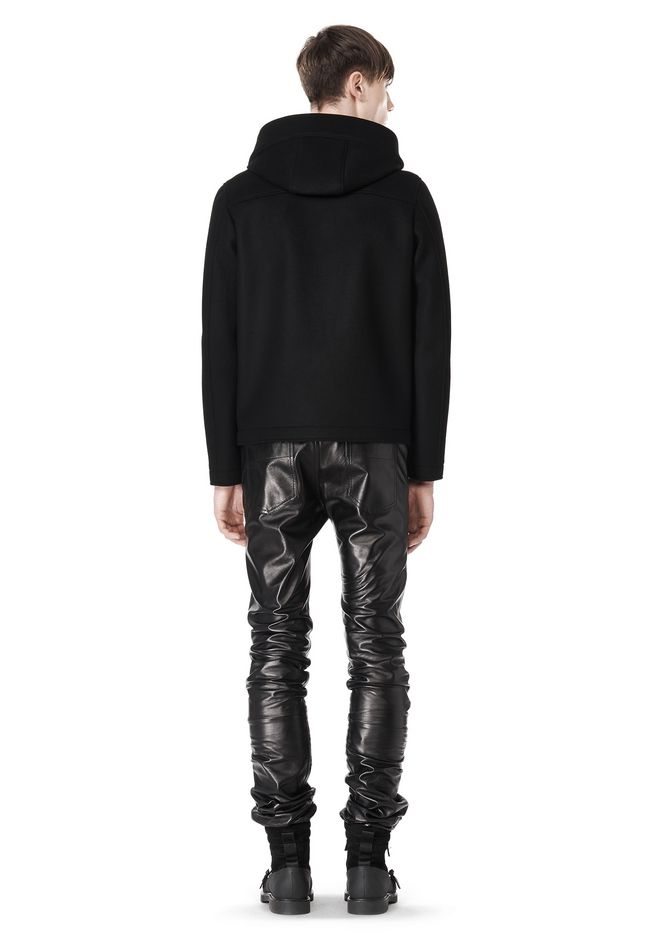 ALEXANDER WANG HOODED JACKET WITH WELT POCKET Jacket Adult 12_n_r