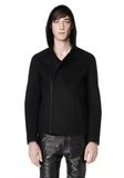 ALEXANDER WANG HOODED JACKET WITH WELT POCKET Jacket Adult 8_n_a