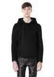 ALEXANDER WANG HOODED JACKET WITH WELT POCKET Jacket Adult 8_n_e