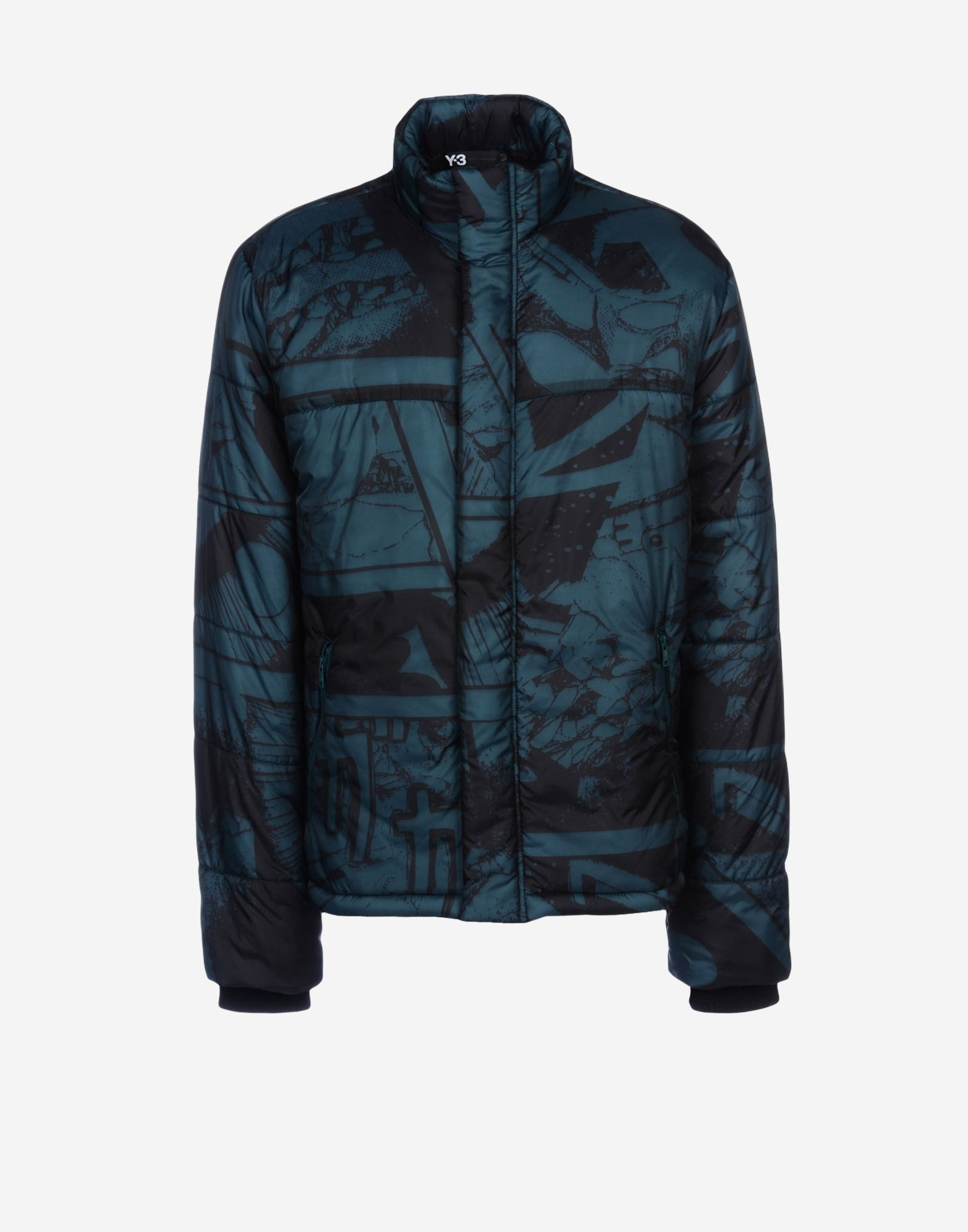 y 3 print padded blouson for men adidas y 3 official store. Black Bedroom Furniture Sets. Home Design Ideas