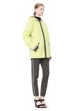 T by ALEXANDER WANG BONDED FLEECE REVERSIBLE HOODED JACKET Jacket Adult 8_n_e