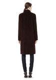 T by ALEXANDER WANG MOHAIR ALPACA WOOL FELT LONG CAR COAT JACKETS AND OUTERWEAR  Adult 8_n_r